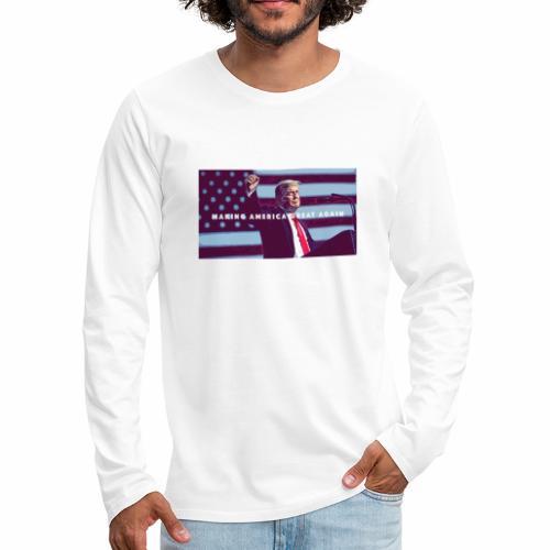 Trump MAGA - Men's Premium Long Sleeve T-Shirt