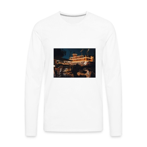 Peaceful Night - Men's Premium Long Sleeve T-Shirt