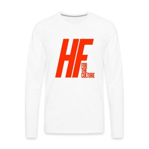 HoopFocus Original Logo - Men's Premium Long Sleeve T-Shirt