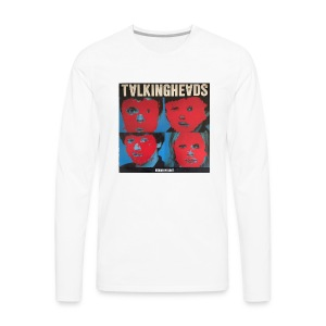 Talking Heads merch - Men's Premium Long Sleeve T-Shirt