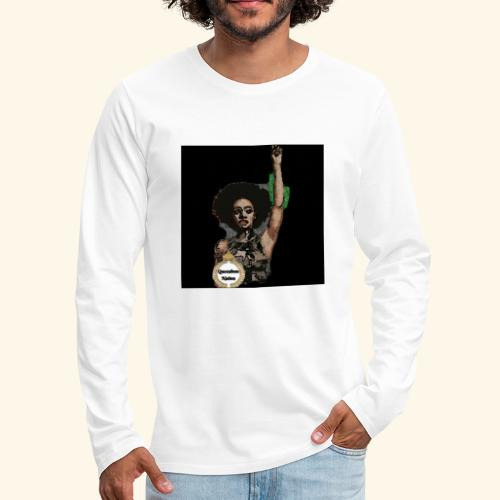 QueendomNation Made with PosterMyWall - Men's Premium Long Sleeve T-Shirt