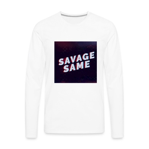Real Savage - Men's Premium Long Sleeve T-Shirt