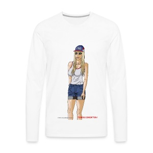 Gina Character Design - Men's Premium Long Sleeve T-Shirt