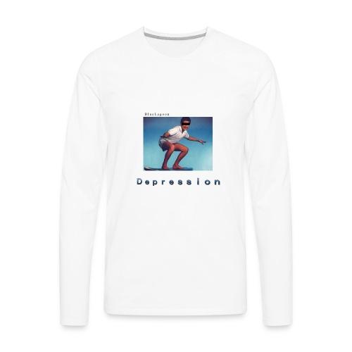 Depression album merchandise - Men's Premium Long Sleeve T-Shirt
