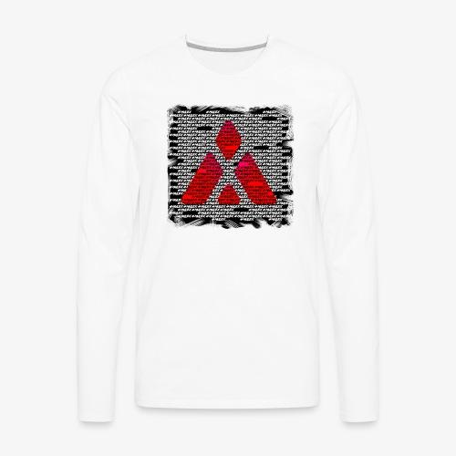 #MuleX - Arte Escura - Men's Premium Long Sleeve T-Shirt