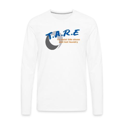 T.A.R.E t-shirt - Men's Premium Long Sleeve T-Shirt