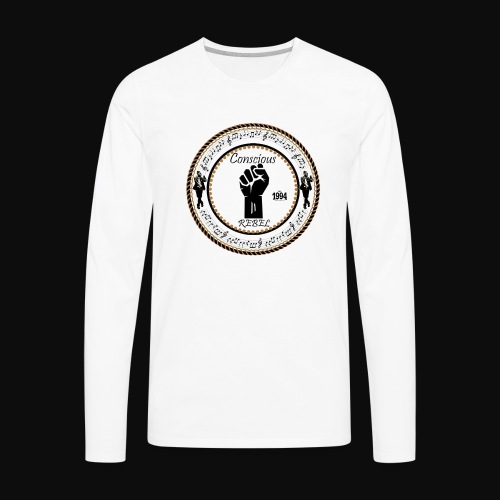 CONSCIOUS REBEL CLOTHING - Men's Premium Long Sleeve T-Shirt
