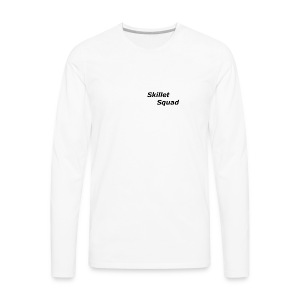 SkilletSquad Longsleve logo - Men's Premium Long Sleeve T-Shirt