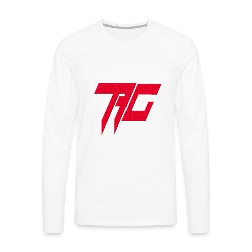 Tag Logo - Men's Premium Long Sleeve T-Shirt