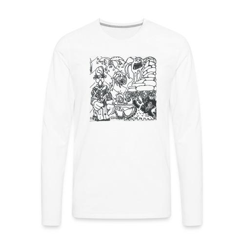 Pressure Clown Archives II Cover - Men's Premium Long Sleeve T-Shirt