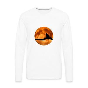 Cool Halloween Cat wear. Great gift! - Men's Premium Long Sleeve T-Shirt