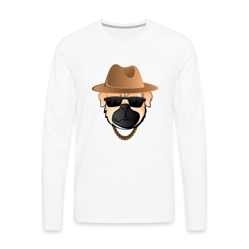 Classic Pug - Men's Premium Long Sleeve T-Shirt