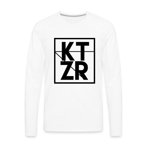 KTZR Logo - Men's Premium Long Sleeve T-Shirt