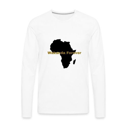 Wakanda Forever - Men's Premium Long Sleeve T-Shirt