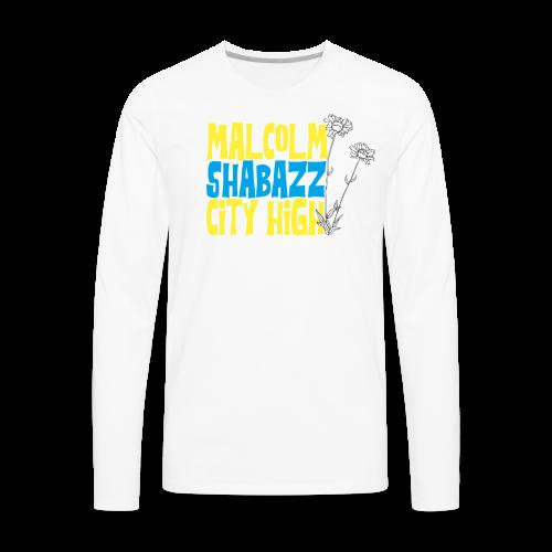 Malcolm Shabazz City High - Men's Premium Long Sleeve T-Shirt
