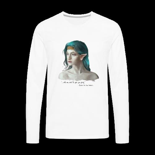 Bunian, the Time traveler - Men's Premium Long Sleeve T-Shirt