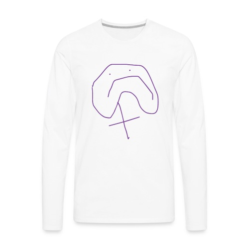 Frown - Men's Premium Long Sleeve T-Shirt