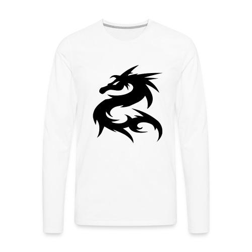 Dragon Nepal T-shirt - Men's Premium Long Sleeve T-Shirt