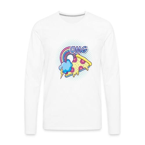 PIZAA - Men's Premium Long Sleeve T-Shirt