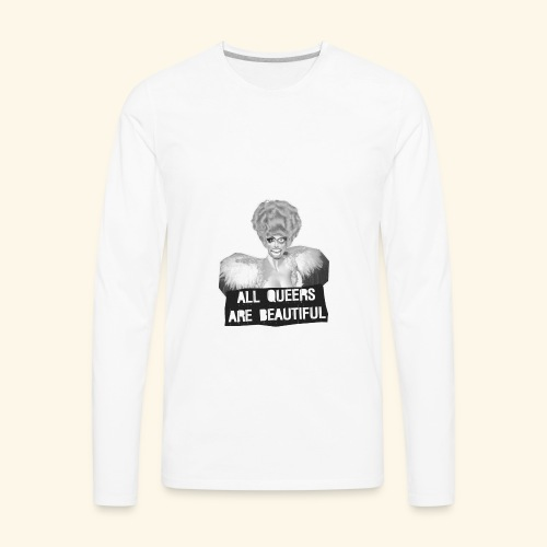 ALL QUEERS ARE BEAUTIFUL - Men's Premium Long Sleeve T-Shirt