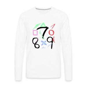 The official 789 Logo - Men's Premium Long Sleeve T-Shirt