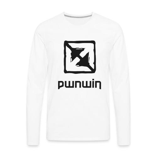 pwnwin - play eSports and win cash & prizes - Men's Premium Long Sleeve T-Shirt