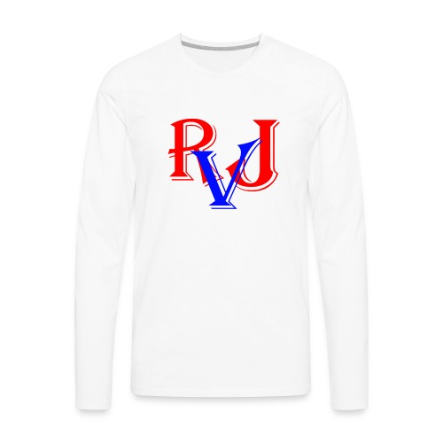 RJ Everett Vlogs - Men's Premium Long Sleeve T-Shirt
