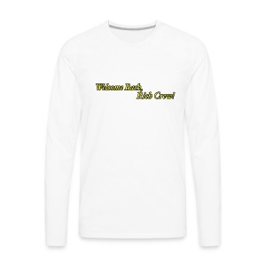 Welcome Back, Rich Crew - Men's Premium Long Sleeve T-Shirt
