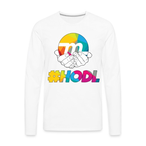 HODL - Men's Premium Long Sleeve T-Shirt