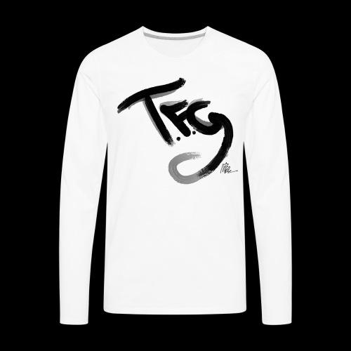 T.f.g Mide logo - Men's Premium Long Sleeve T-Shirt