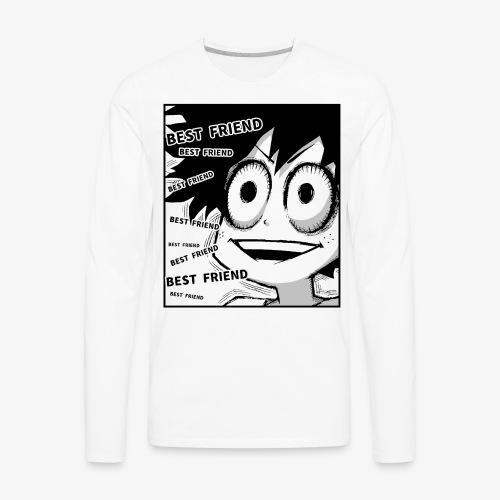 ANIME MEME Best Friend (Boku No Hero Academia) - Men's Premium Long Sleeve T-Shirt