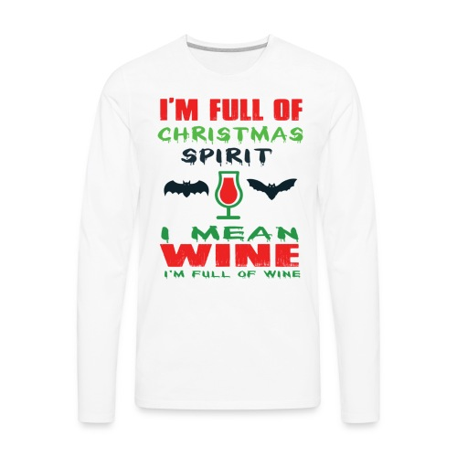 Ugly Christmas Sweaters - Men's Premium Long Sleeve T-Shirt