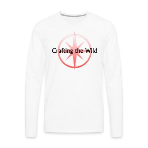 Crafting The Wild - Men's Premium Long Sleeve T-Shirt
