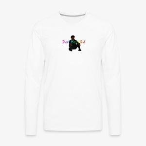 Rainbow DatBoiDJ Logo - Men's Premium Long Sleeve T-Shirt