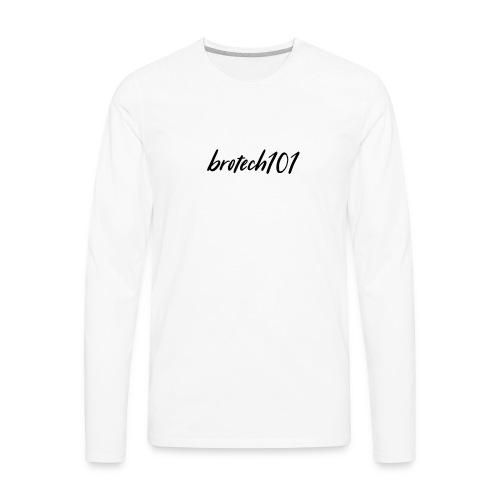 brotech101 apparel Season 1 - Men's Premium Long Sleeve T-Shirt