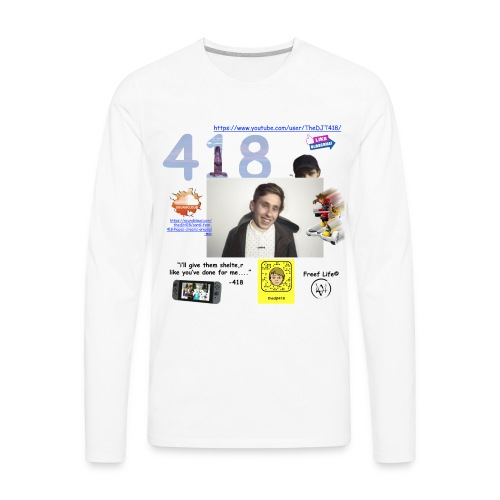418 - Men's Premium Long Sleeve T-Shirt