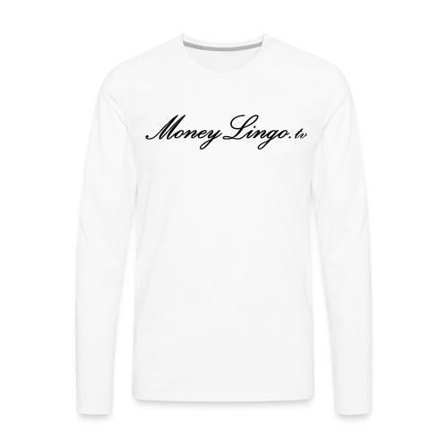 MoneyLingo tv gear - Men's Premium Long Sleeve T-Shirt