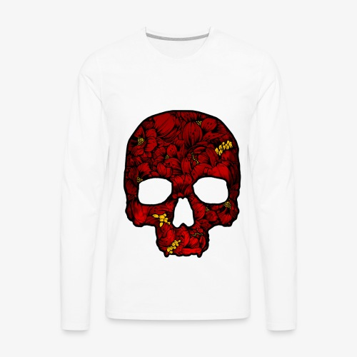 Red Skull - Men's Premium Long Sleeve T-Shirt