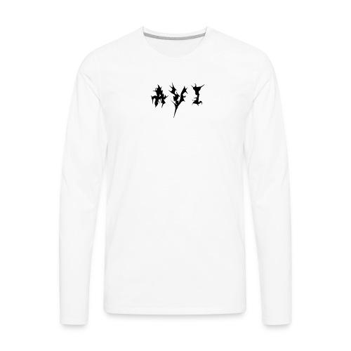 Avi Logo - Men's Premium Long Sleeve T-Shirt