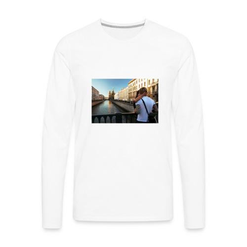 Love Lust or Bust Travel Lovers - Men's Premium Long Sleeve T-Shirt