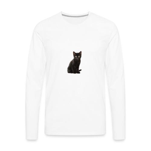 Black Cat - Men's Premium Long Sleeve T-Shirt
