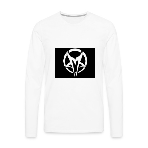 My Merch buy now this is lit so cool look at the W - Men's Premium Long Sleeve T-Shirt
