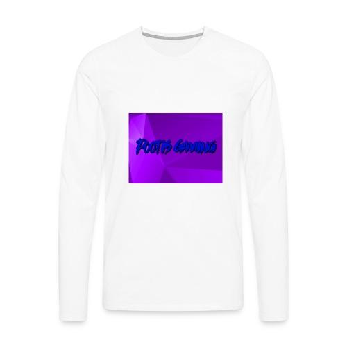 Pootis Gaming - Men's Premium Long Sleeve T-Shirt
