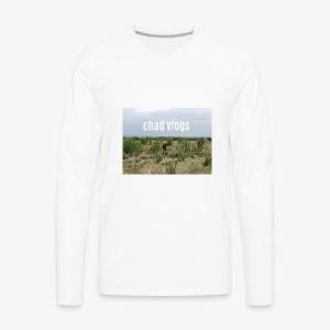 chad vlogs - Men's Premium Long Sleeve T-Shirt