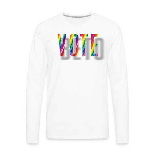LGBT BETO - Men's Premium Long Sleeve T-Shirt