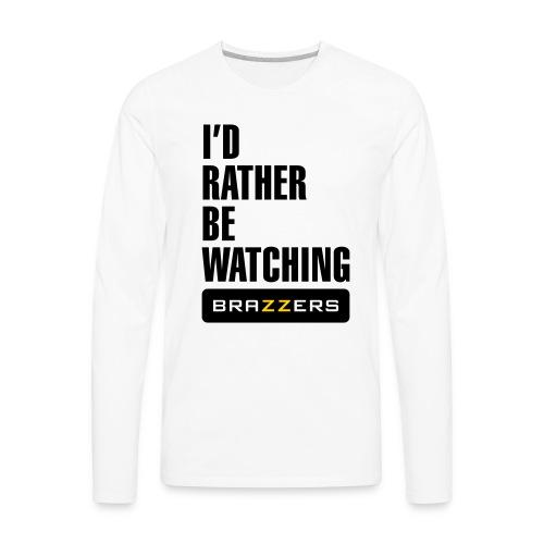 IRBW Brazzers logo - Men's Premium Long Sleeve T-Shirt