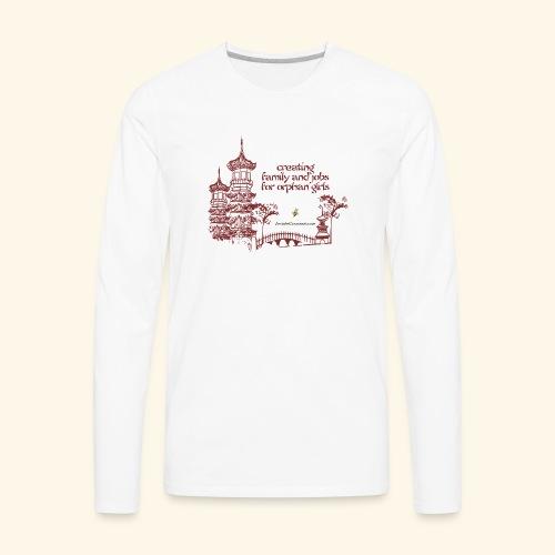 Josiah's Covenant - creating family - Men's Premium Long Sleeve T-Shirt