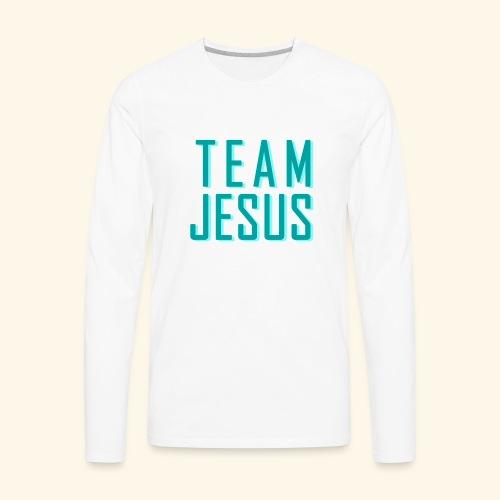 Team Jesus - Men's Premium Long Sleeve T-Shirt