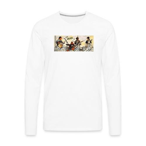The Grinn:) - Men's Premium Long Sleeve T-Shirt