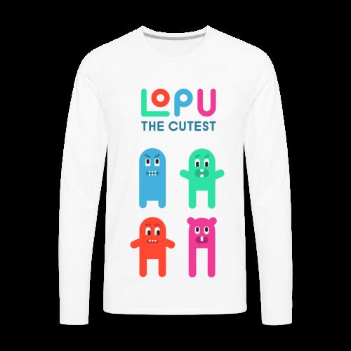 Lopu - The Cutest - Men's Premium Long Sleeve T-Shirt